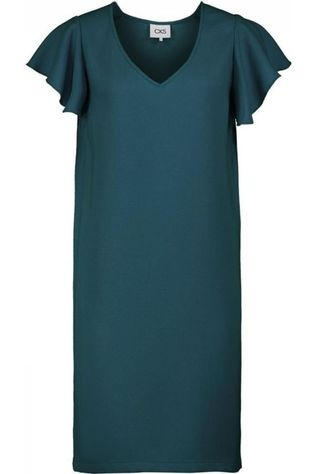 CKS Women Dress Floris Petrol