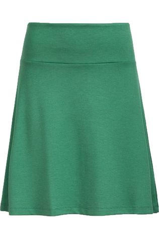 King Louie Jupe Border Skirt Milano Uni Vert Moyen