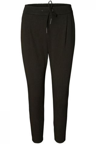 Vero Moda Broek Vmeva Loose String Color Donkerkaki