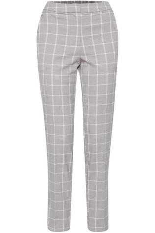 Ichi Trousers Ihbiance Pa2 light grey/off white