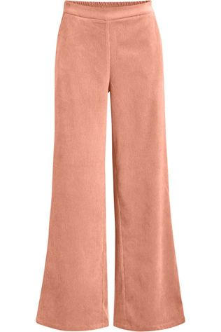 Object Pantalon Sibil Elva Wide Rose Saumon