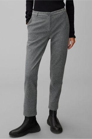 Marc O'Polo Trousers M09308819133 Dark Grey Marle