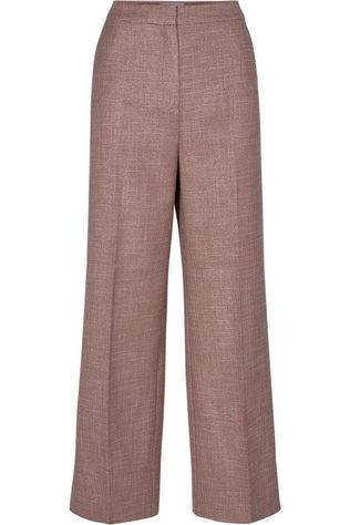 Numph Trousers Nubrae mid brown