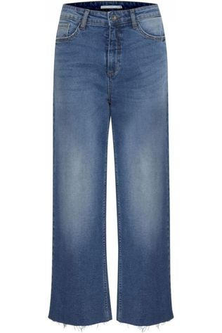 B.Young Jeans Bykato Bylocca Wide Middenblauw