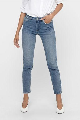 Only Jeans  Erica Life Mid St Ankle Bb Mid Blue (Jeans)