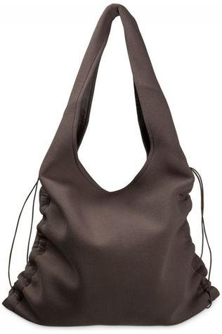 Yaya Tas Scuba Shopper Drawstrings Middenbruin