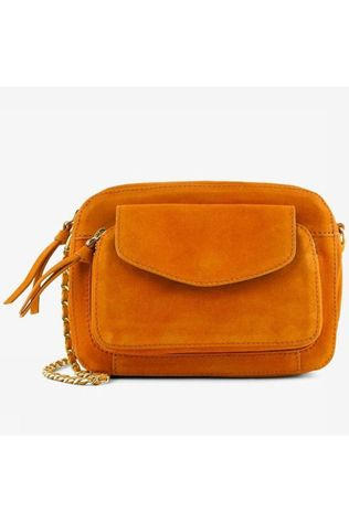 Pieces Sac Pcnaini Suede Cross Orange