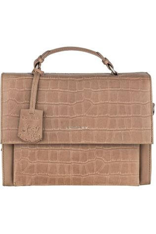Burkely Bag Croco Caia Citybag Taupe