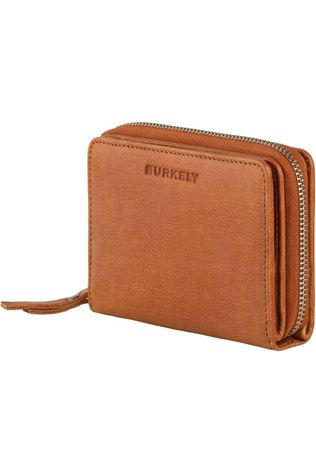 Burkely Wallet Just Jackie M Camel Brown