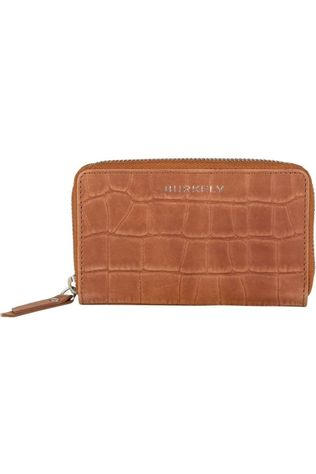 Burkely Wallet Croco Caia M Camel Brown
