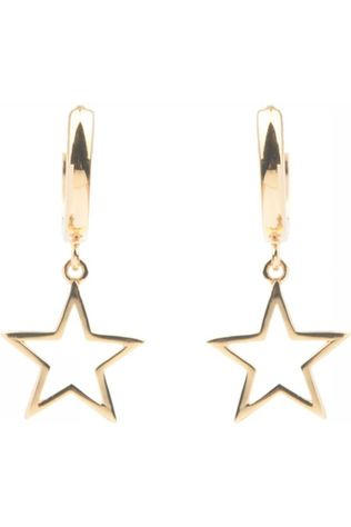 All The Luck In The World Boucle D'Oreille Star Or