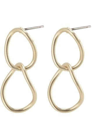 Pilgrim Boucle D'Oreille Nika Earrings Gold Plated Or