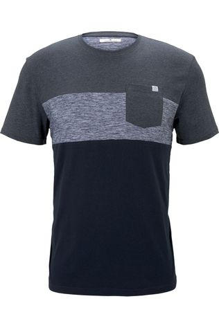 Tom Tailor T-Shirt 1021256 dark grey/dark blue