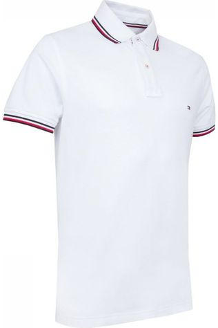 Tommy Hilfiger Polo Tommy Tipped Slim Wit