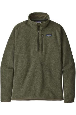 Patagonia Fleece M'S Better Sw 1/4-Zip Donkerkaki