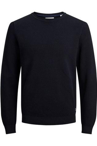 Jack & Jones Pullover Jjfinn Knit Cn dark blue
