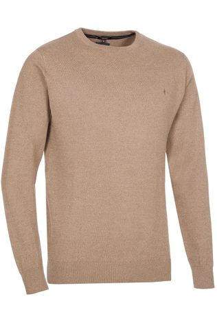 Haze & Finn Pullover Mc14-0222 Sand Brown