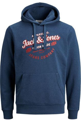 Jack & Jones Pullover Jjdenim Logo Sw Hd dark blue