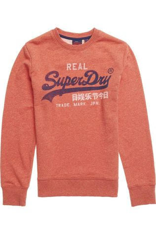 Superdry Pull Vl Premium Goods Crew Rouge Clair
