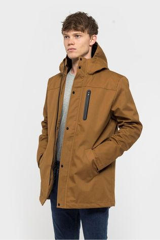 Revolution Coat 7443 X Camel Brown