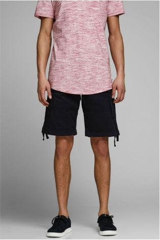 Jack & Jones Short Jjichop Cargo Noir