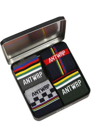 Antwrp Sock Velo Tourist Black/Assorted / Mixed