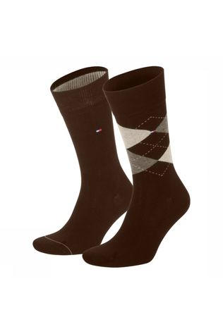 Tommy Hilfiger Socks Socks 391156 dark brown