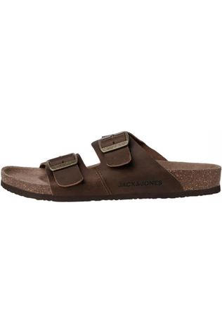 Jack & Jones Flip Flop Jfwcroxton Leather dark brown