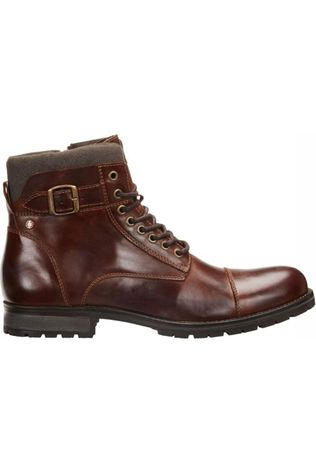 Jack & Jones Bottine Jfw Albany Leather Noos Brun Foncé