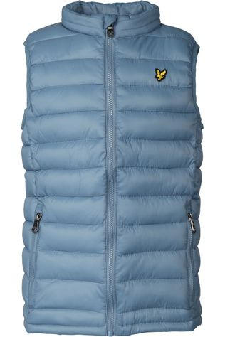 Lyle & Scott Bodywarmer Lightweight Gilet Bleu Pétrole