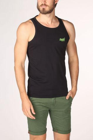 Superdry Top Ol Neon Lite black