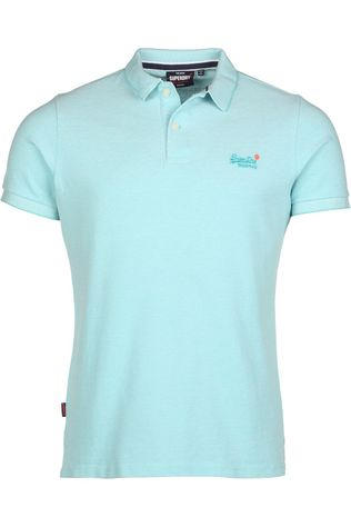 Superdry Polo Classic Pique S/S Vert Clair