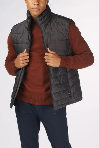 Superdry Bodywarmer Fuji Gilet dark grey