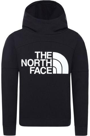 The North Face Pullover Girl'S Drew Peak Hoodie black/white