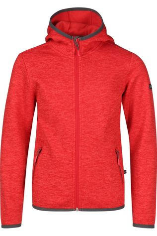 Our planet Fleece Equinox mid red