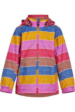 Color Kids Coat Striped Aop, Af 8.000 light pink/yellow