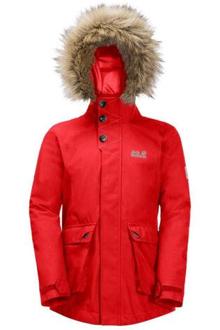 Jack Wolfskin Coat Elk Island 3In1 red