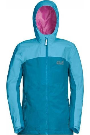 Jack Wolfskin Coat Saana blue/light blue