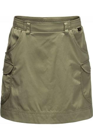 Jack Wolfskin Skort Treasure Hunter Kaki Moyen