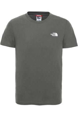 The North Face T-Shirt Simple Dome Kaki Foncé