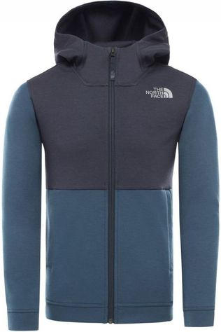 The North Face Pull Slacker Full Zip Hoodie Bleu/Bleu Foncé