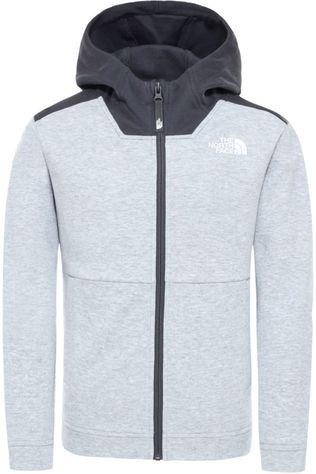The North Face Pull Slacker Full Zip Hoodie Gris Clair Mélange