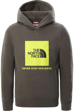 The North Face Pull Y Box P/O Hoodie Kaki Moyen