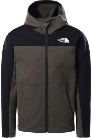 The North Face Pull B Slacker Fz Hdy Kaki Moyen