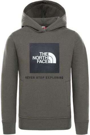 The North Face Pull Y New Box P/O Hoodie Kaki Moyen