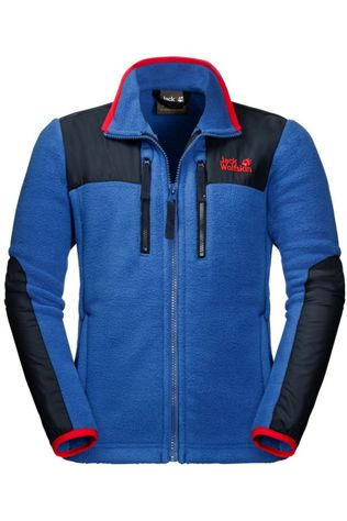 Jack Wolfskin Pullover Bearville royal blue/red