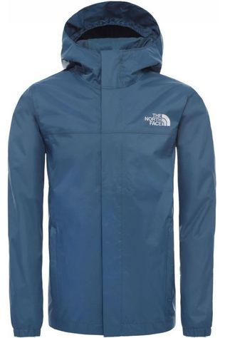 The North Face Manteau Boy'S Resolve Rain Bleu