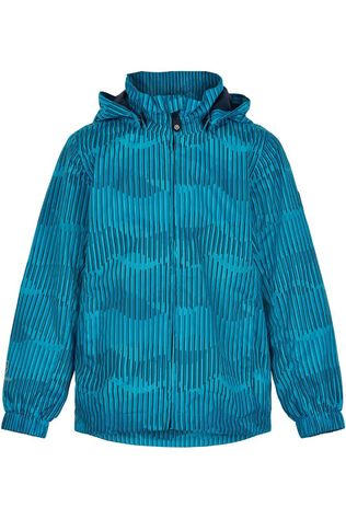 Color Kids Coat Striped Aop, Af 8.000 Blue/Assorted / Mixed