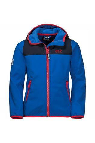 Jack Wolfskin Softshell Fourwinds royal blue/red