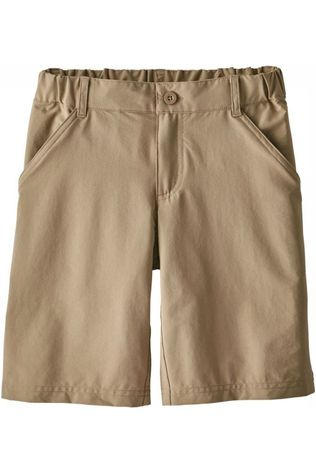 Patagonia Shorts Boys' Sunrise Trail Sand Brown